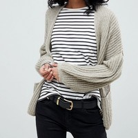 ASOS Oversized Chunky Cardigan at asos.com