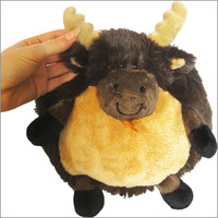 Mini Squishable Moose: An Adorable Fuzzy Plush to Snurfle and Squeeze!