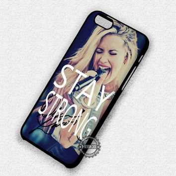 Demi Lovato Stay Strong - iPhone 7 6 Plus 5c 5s SE Cases & Covers