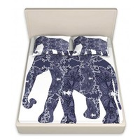 Susie Kunzelman's 'Elephant II' | Designer Unique Bed Sheets