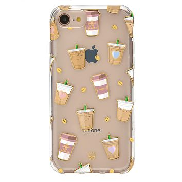 Coffee First iPhone Clear Case