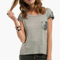 Glitz Shoulder Shirt $21