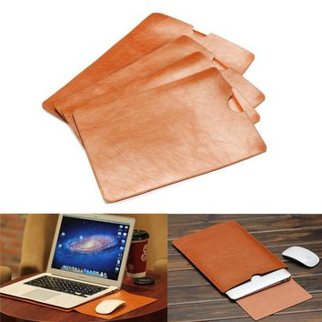 Leather Case For MacBook Air Pro