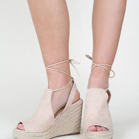Altar'd State All Tied Up Espadrille Wedge