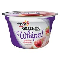 Yoplait Greek Whips Strawberry Cheesecake Yogurt - 4oz