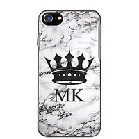 Crown!MK!Michael20Kors18Marble Hard Case For iPhone 6 6s Plus 7 8 Plus X Cover +