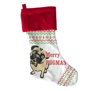 Pugmas Christmas Stocking