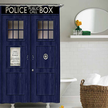 doctor who shower curtain,shower curtain size 36x72 48x72 60x72 66x72