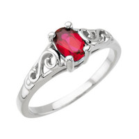 Precious Gift™ Youth Birthstone Ring - January
