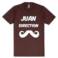 Juan Direction T Shirt-Unisex Brown T-Shirt