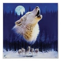 Wolf Poster from Zazzle.com