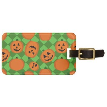 Halloween Pumpkins Tags For Bags