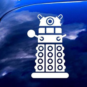 Doctor Who DALEK Vinyl Decal Sticker for iPad Car Notebook