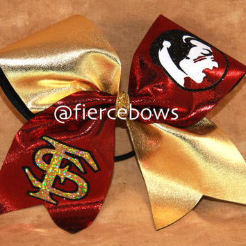 Florida State Cheer Bow