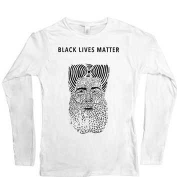 Black Lives Matter Figure -- Women's Long-Sleeve