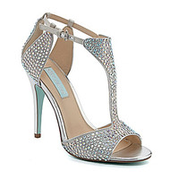 Blue by Betsey Johnson I Do Beaded