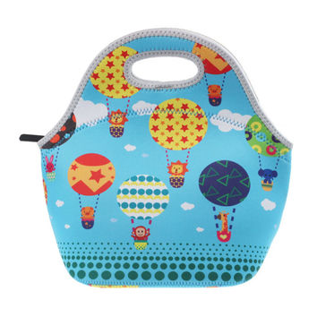 Excellent Quality New Thermo Thermal Insulated Neoprene Lunch Bag Women Kids Lunchbags Tote Cooler Lunch Box Insulation Bag
