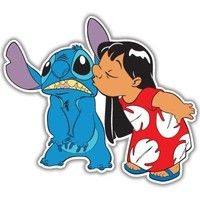 Lilo and Stitch Vynil Car Sticker Decal - Select Size
