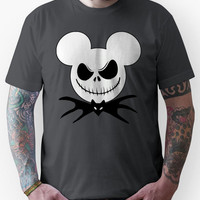 Mickey Mouse dressed as Jack Skellington Unisex T-Shirt