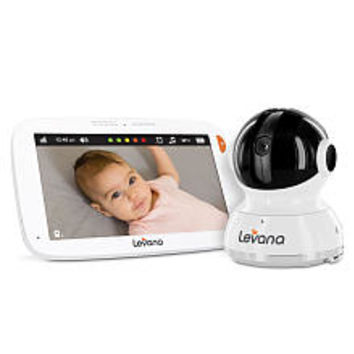 Levana® Aria™ 7 inch Touchscreen Video Baby Monitor with Pan, Tilt and Zoom Camera - 32203