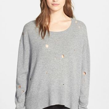 Women's Enza Costa Oversized Cashmere Sweater,