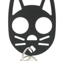 The Cat Personal Safety Keychain -Black