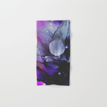 A Violet Gaze Hand & Bath Towel by duckyb