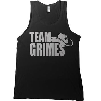 Team Grimes Mens Tank Top - group walking dead t-shirt daryl dixon rick grimes hoodie ladies tank tee tshirt