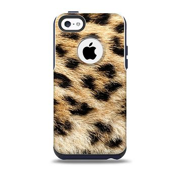 The Real Cheetah Animal Print Skin for the iPhone 5c OtterBox Commuter Case