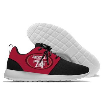 Rugby league running shoes Super Cool breathable 49er 74 joe staley sneakers sport shoesClassic+Unisex Skateboarding Shoes