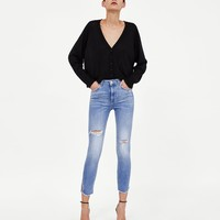 Z1975 SKINNY JEANS WITH SIDE VENTS