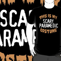 Limited Edition 'This is my scary paramedic costume' Halloween T-Shirt