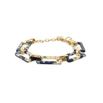 Sheridan Blue/White - Gold