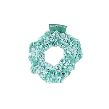 Fleece Scrunchie in Island Reef by Live Oak