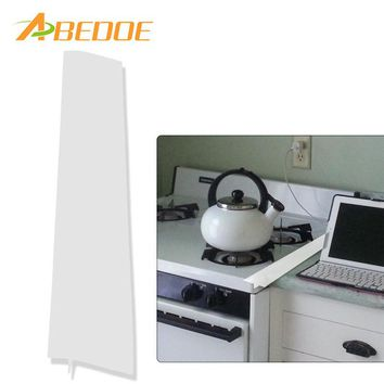 ABEDOE Silicone Stove Counter Gap Cover Flexible Silicone Gap Covers Seal Gap Spills Between Counter/Stovetop/Oven