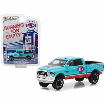 "2017 Dodge Ram 2500 Power Wagon STP Air Filter ""Running on Empty"" Series 4 1/64 Diecast Model Car by Greenlight"