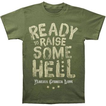ICIKIS3 Florida Georgia Line - Ready to Raise Some Adult T-Shirt