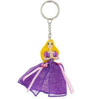 Disney Parks Princess Rapunzel Tulle Keychain New with Tags