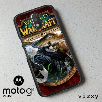 World of Warcraft Guardian Druid Mists of Pandaria Z0652 Motorola Moto G4 | G4 Plus Case