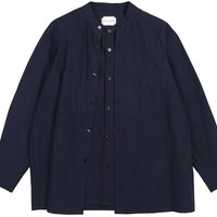 Stephanie Shirt Navy - TIINA the STORE