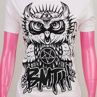 OWL Bring Me The Horizon BMTH Oliver Sykes Women T-Shirt Top S, M, L