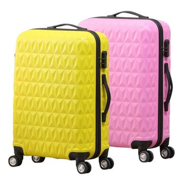 High Quality Spinner Wheels Travel Luggage Suitcase Leisure ABS Luggage Suitcases 20/24/28 Inch Traveling Boxs with Wheels