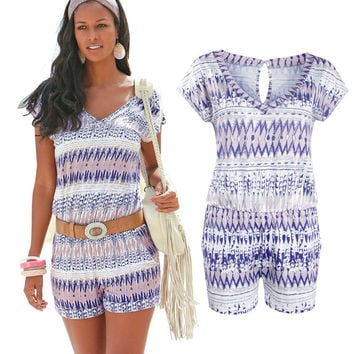 Bohemian Rompers Jumpsuits