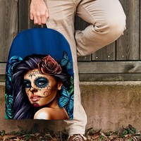Calavera Turquoise Backpack