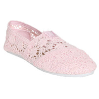 Zoey Crochet Slip On | Shop Shoes at Wet Seal