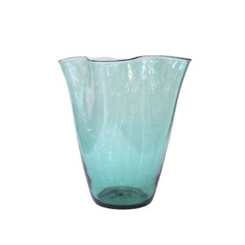 Pre-owned Hand Blown Vintage Blenko Glass Vase