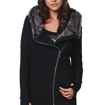 Fox Advanced Sasquatch Zip Hoodie - Womens Hoodie - Black