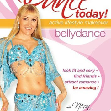 """""""Dance Today! Belly Dance with Neon: 2 belly dancing routines"""" DVD"""