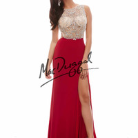 Sexy Back Mac Duggal Prom Gown 40380A