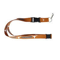 Texas Longhorns Lanyard - Orange